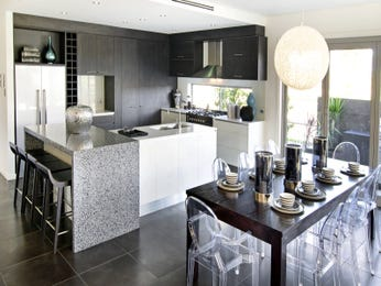 Modern kitchen-dining kitchen design using stainless steel - Kitchen Photo 16975889