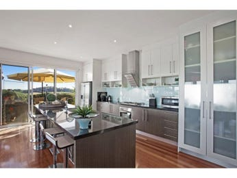 Frosted glass in a kitchen design from an Australian home - Kitchen Photo 15465973