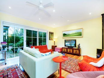 Red living room idea from a real Australian home - Living Area photo 8963241