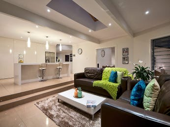 Brown living room idea from a real Australian home - Living Area photo 7985085
