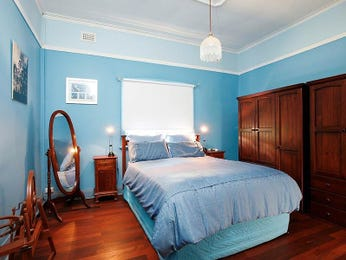 Blue bedroom design idea from a real Australian home - Bedroom photo 418169