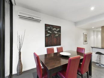 Red dining room idea from a real Australian home - Dining Room photo 6912929