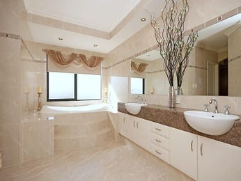 bathroom ideas with marble in cream