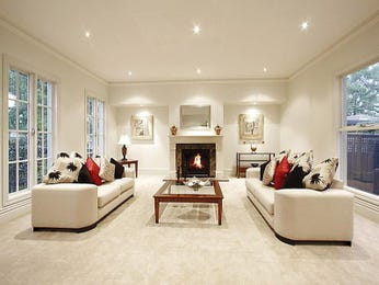 Cream living room idea from a real Australian home - Living Area photo 439159