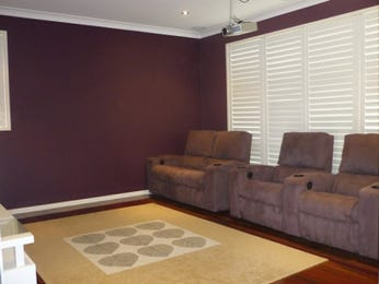 Brown living room idea from a real Australian home - Living Area photo 403819