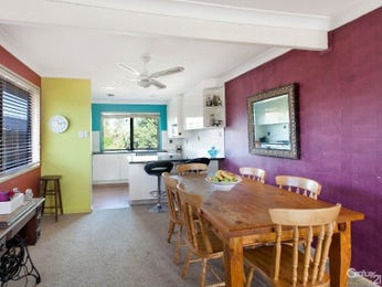Green dining room idea from a real Australian home - Dining Room photo 16064301