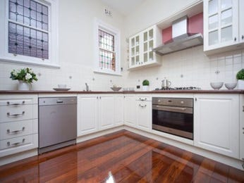 Floorboards in a kitchen design from an Australian home - Kitchen Photo 444975