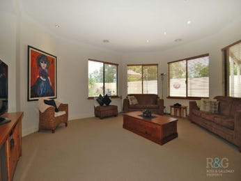 Brown living room idea from a real Australian home - Living Area photo 350293