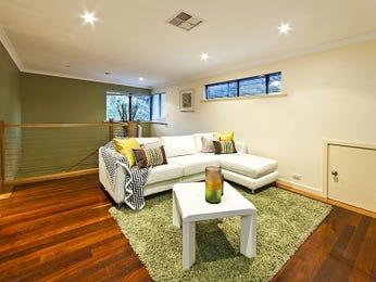 Green living room idea from a real Australian home - Living Area photo 7512133