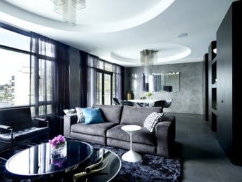 Grey living room idea from a real Australian home - Living Area photo 8023253