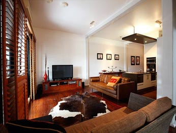 Brown living room idea from a real Australian home - Living Area photo 7506493