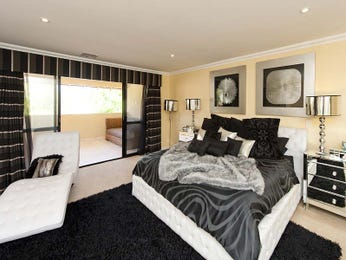 Black bedroom design idea from a real Australian home - Bedroom photo 8739337