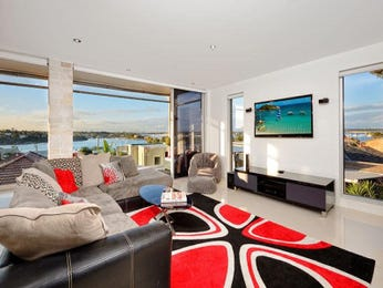 Black living room idea from a real Australian home - Living Area photo 8619485