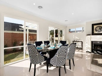 Black dining room idea from a real Australian home - Dining Room photo 15659401
