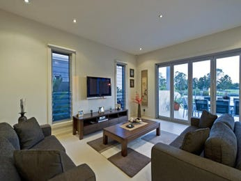 Black living room idea from a real Australian home - Living Area photo 394550