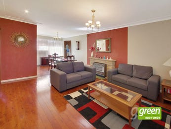 Red living room idea from a real Australian home - Living Area photo 8505597