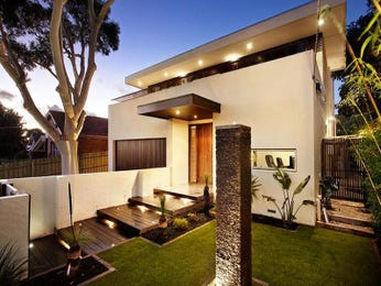 Photo of a stone house exterior from real Australian home - House Facade photo 278695