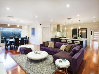 Purple living room idea from a real Australian home - Living Area photo 8501081