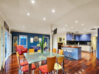 Blue dining room idea from a real Australian home - Dining Room photo 16337281