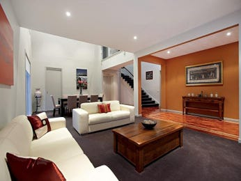 Grey living room idea from a real Australian home - Living Area photo 505392