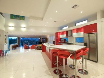 Modern island kitchen design using stainless steel - Kitchen Photo 286322