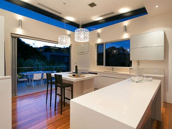 Pendant lighting in a kitchen design from an Australian home - Kitchen Photo 8224293
