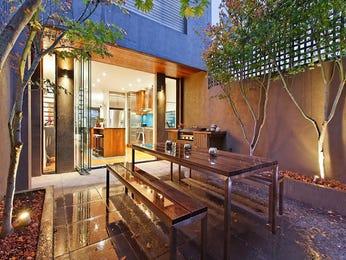 Indoor-outdoor outdoor living design with bbq area & decorative lighting using brick - Outdoor Living Photo 286991