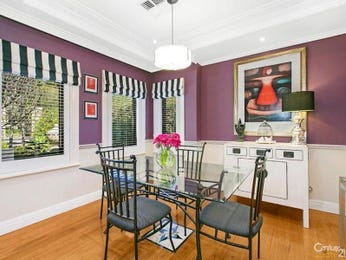 Purple dining room idea from a real Australian home - Dining Room photo 2364041
