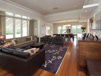 White living room idea from a real Australian home - Living Area photo 675541