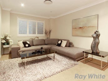 Beige living room idea from a real Australian home - Living Area photo 1563757