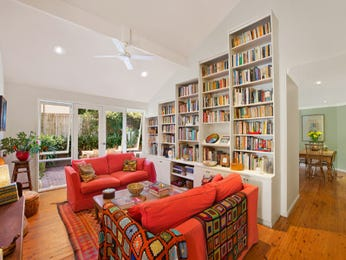 Red living room idea from a real Australian home - Living Area photo 8289157