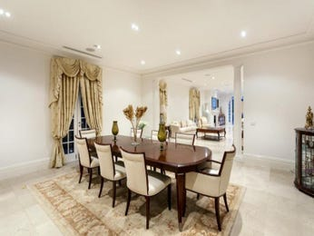 Gold dining room idea from a real Australian home - Dining Room photo 8093277