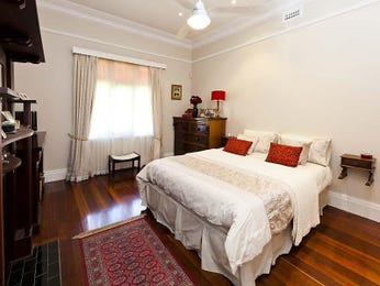 Brown bedroom design idea from a real Australian home - Bedroom photo 796297