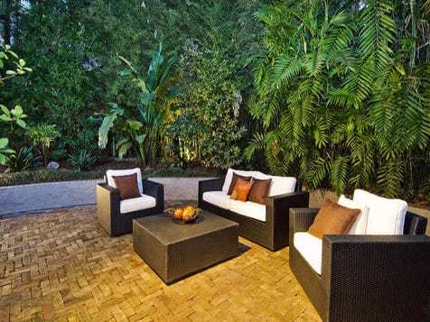 View the outdoor entertaining photo collection on home ideas for Courtyard entertaining ideas