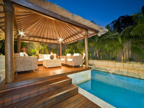Outdoor Pool Areas Home Design