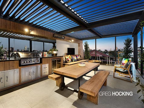 View The Outdoor Entertainment Area Photo Collection On