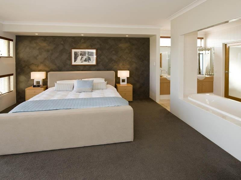 Beige bedroom design idea from a real australian home for Interior design bedroom australia