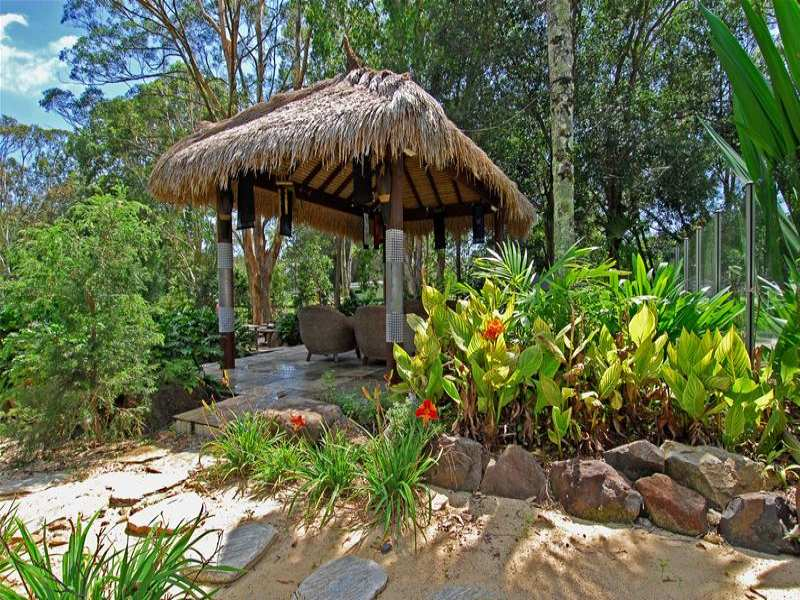 Photo of a tropical garden design from a real Australian