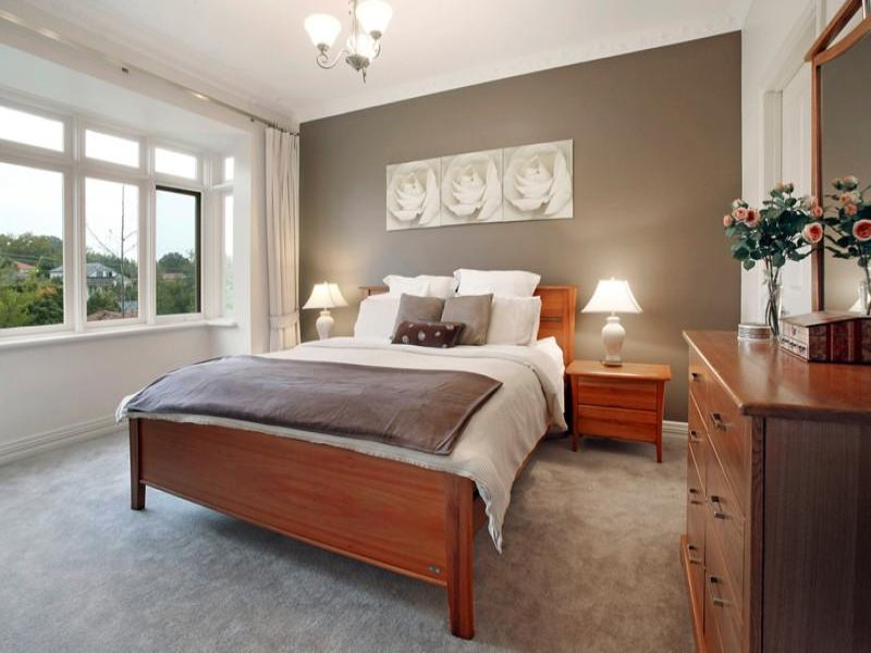 Brown Bedroom Design Idea From A Real Australian Home Bedroom Photo 396686