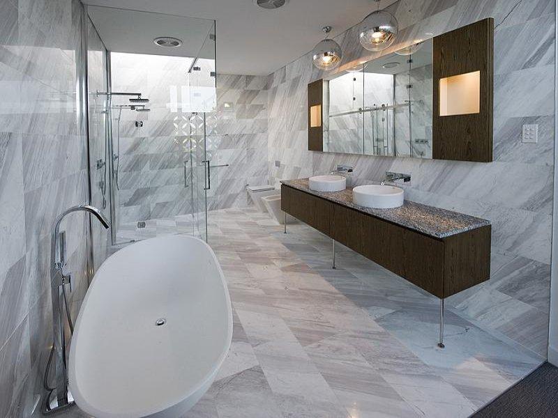 bagno rivestimenti marmo