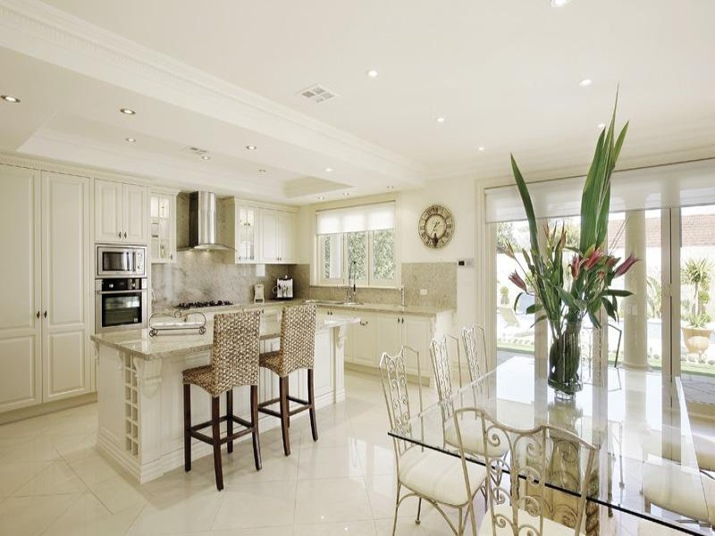 Modern open plan kitchens modern home exteriors Contemporary open plan kitchen
