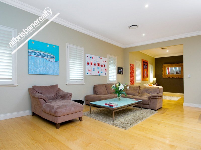 Brown living room idea from a real Australian home - Living Area photo 355163