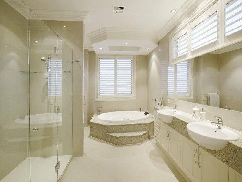 classic bathroom design with corner bath using granite bathroom photo 343426 - Granite Bathroom Designs