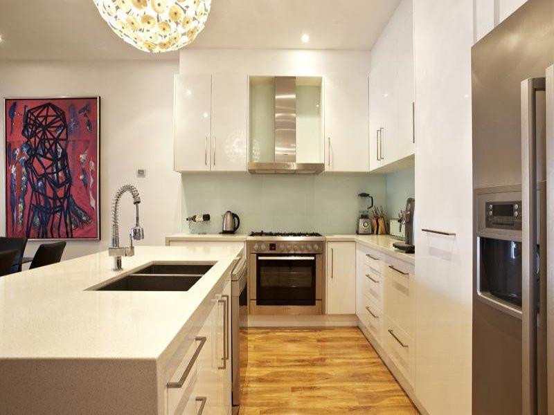Art Deco Kitchen Dining Kitchen Design Using Hardwood