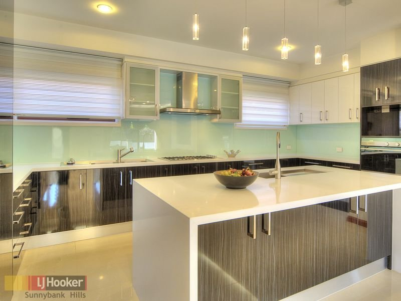 Art Deco Kitchen Living Kitchen Design Using Glass Kitchen Photo 219755