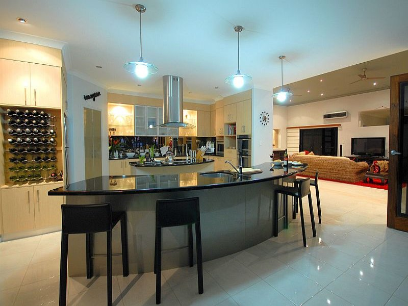 Modern Island Kitchen Designs island kitchen design using tiles - kitchen photo 511970