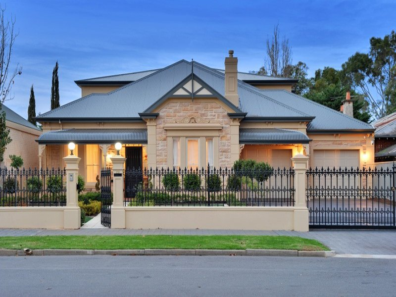 Photo of a corrugated iron house exterior from real for French provincial home designs australia
