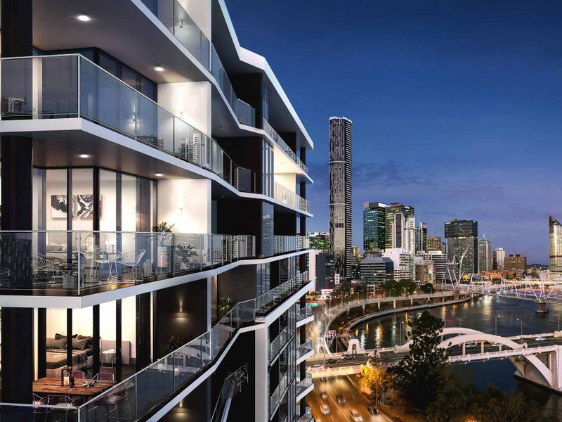 New Apartments in Brisbane City, QLD For Sale Off The Plan ...