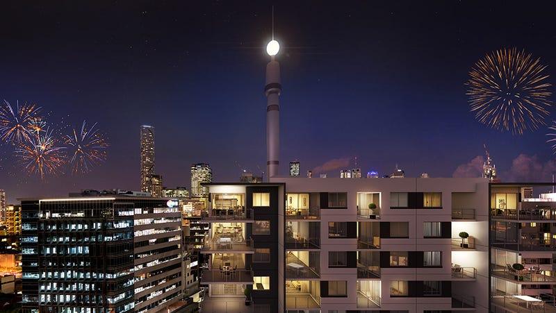 SkyNeedle Apartments, South Brisbane Qld