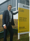 Julian Gardner, Ray White City Precinct Brisbane - BRISBANE CITY